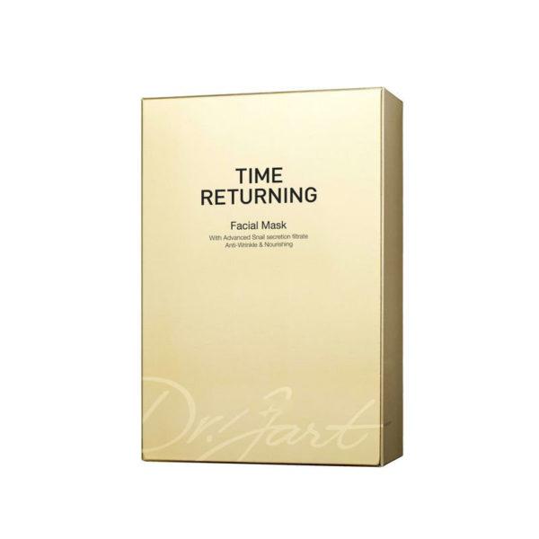 Антивозрастная маска с муцином улитки / Time Returning Mask 10 шт