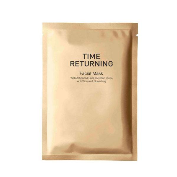 Антивозрастная маска с муцином улитки  / Time Returning Mask 1 шт