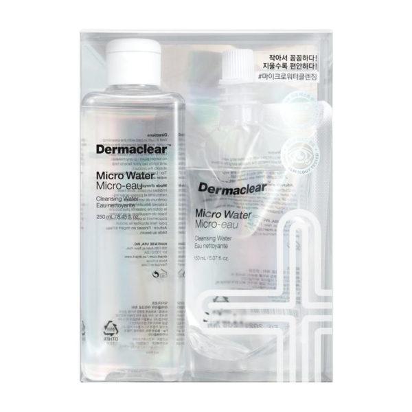 Мицеллярная вода для очищения и тонизирования кожи / Dermaclear Micro water + refill 400 мл