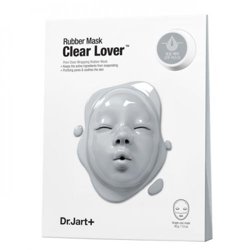 Моделирующая Альгинатная маска «Мания Очищения» / Dermask Rubber Mask Clear Lover 1шт