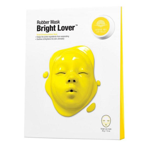 Моделирующая Альгинатная маска «Мания Сияния» / Dermask Rubber Mask Bright Lover 1шт