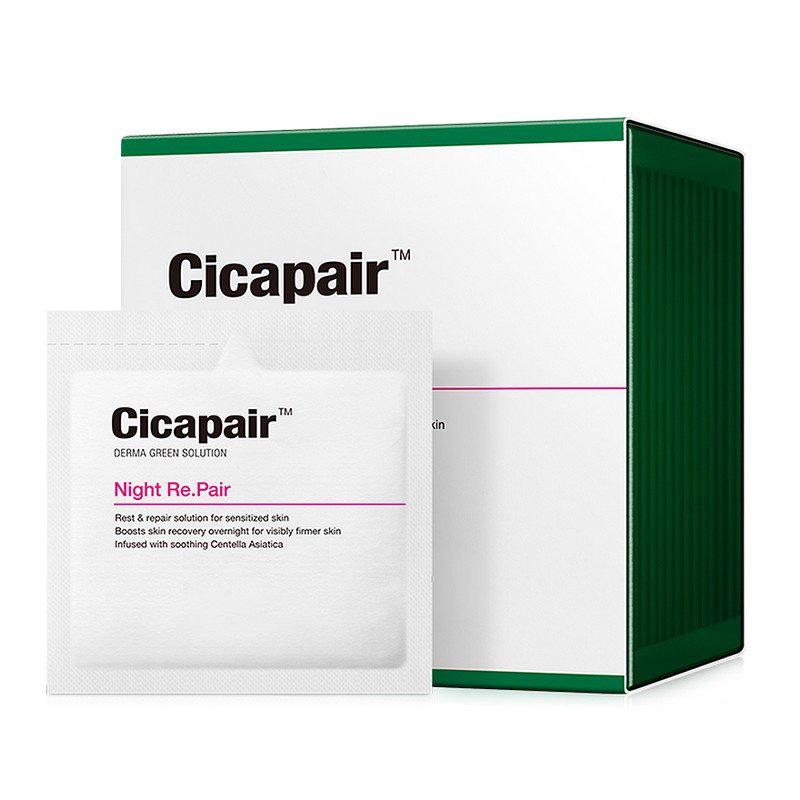 Восстанавливающая ночная крем-маска Антистресс / Cicapair Night Re.Pair 30шт