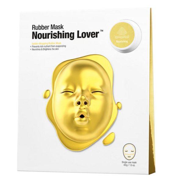 Альгинатная маска Dr.Jart+ Dermask Rubber Mask Nourishing Lover -питательная маска укрепляет иммунитет кожи, восстанавливает эластичность, предотвращает появление дряблости и обвисания. Ягодный комплекс тонизирует жизненные силы кожи, способствуют ее активному питанию.