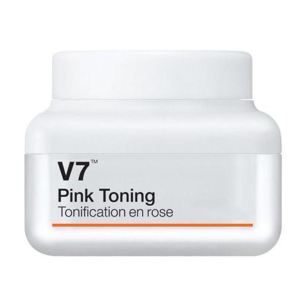 Тонирующий витaминный кpeм / V7 Pink Toning 50мл